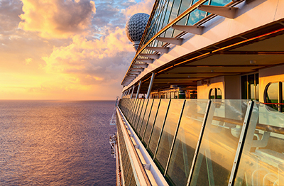Royal Caribbean Cruises auction package