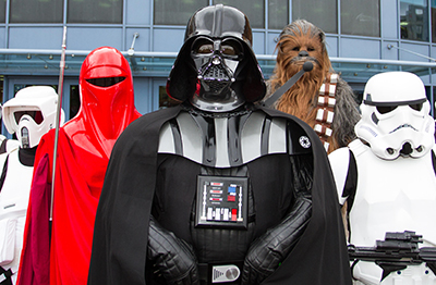 Disneyland Star Wars Adventure